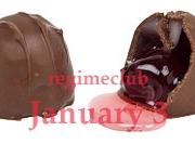گیلاس با روکش شکلاتی
