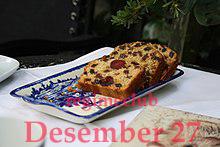 روز جهانی کیک میوه ای