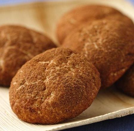کوکی های سلامت با طعم دارچین و جوزهندی