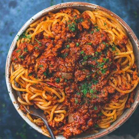 اسپاگتی بولونیس وگان