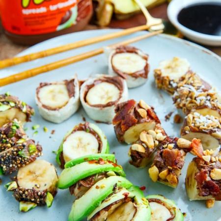 سینی سوشی موز