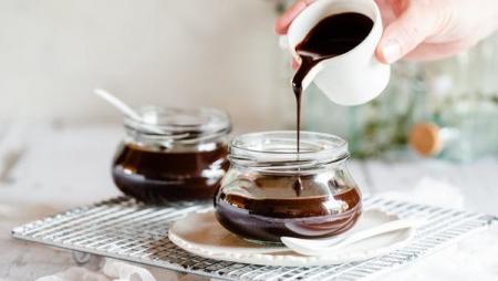 سیروپ شکلات شیری بدون قند