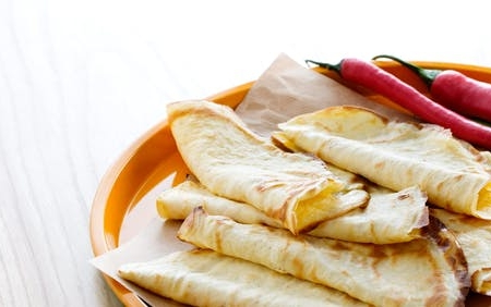 نان تورتیلا کم کربوهیدرات