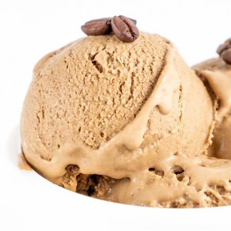 بستنی قهوه کتویی