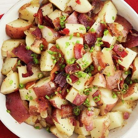 سالاد سیب زمینی گرم آلمانی